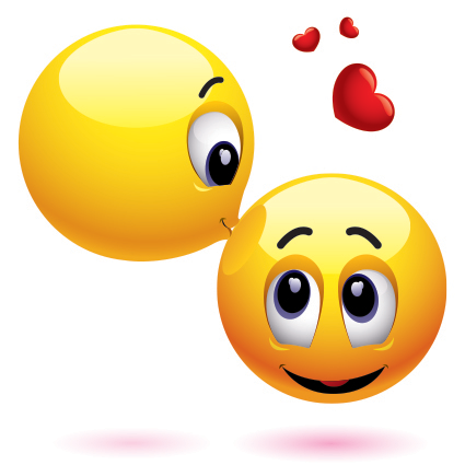 Image result for kisses emoji